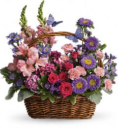 Country Basket Bouquet