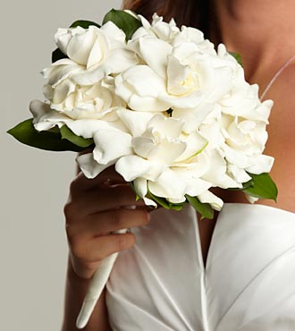 White Dreams Bouquet - Click Image to Close