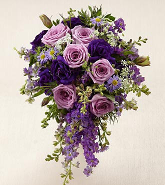Lavender Garden Bouquet - Click Image to Close