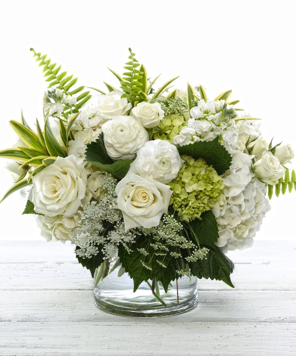 Exquisite White Bouquet