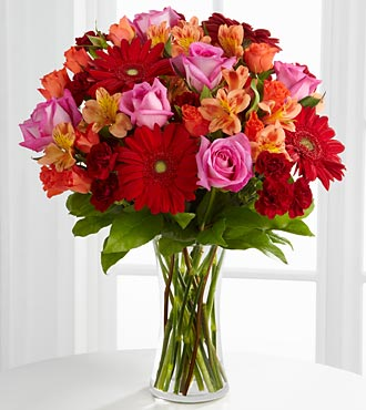 Dawning Love Bouquet - Click Image to Close