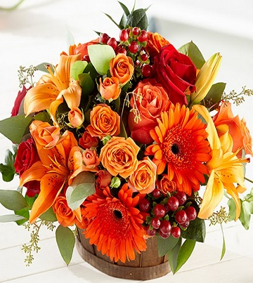 Autumn Harvest Memories bouquet