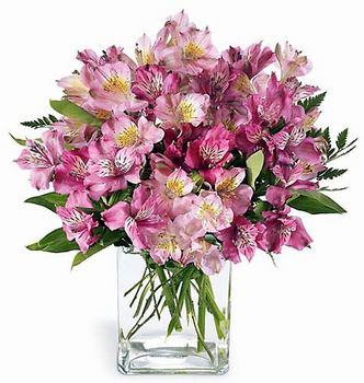 The Pink Persuasion Bouquet - Click Image to Close