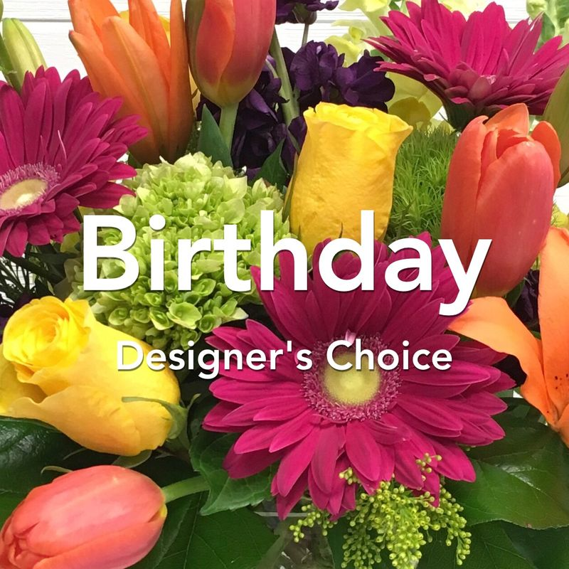 Birthday Designer's Choice Arrangement