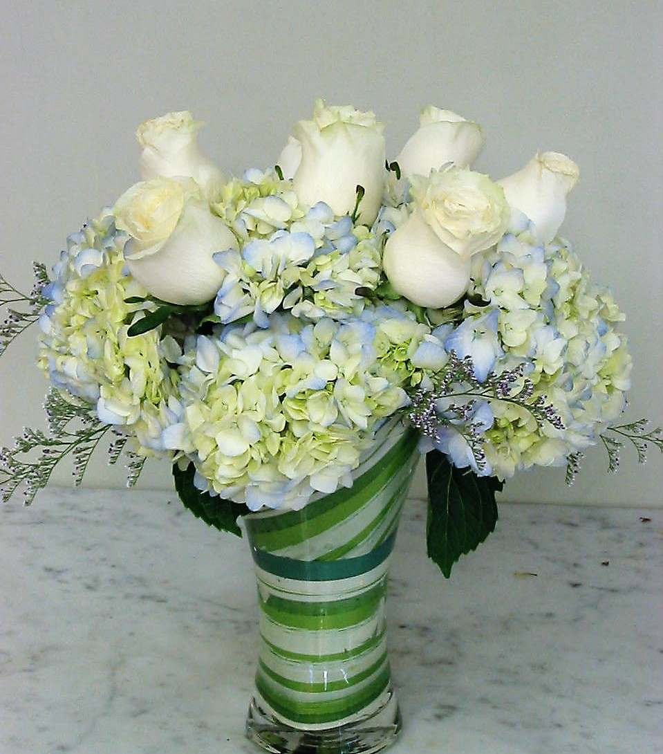 Eternal Blue Bouquet