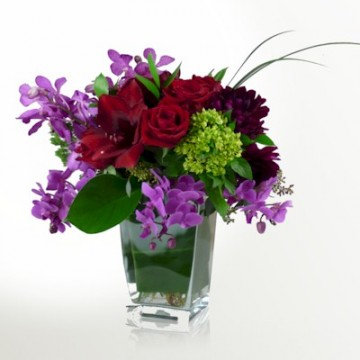 The Passions For Orchids Bouquet - Click Image to Close