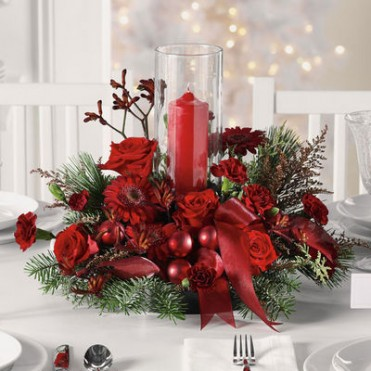 Holiday Harmony Centerpiece
