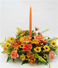The Autumn Charm Centerpiece - Click Image to Close