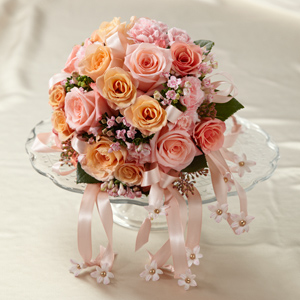 Sweet Peach Bouquet - Click Image to Close