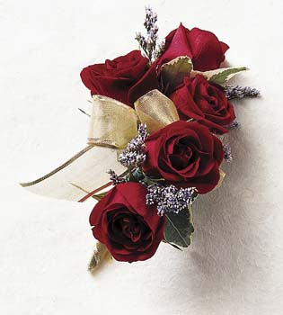 The True Happiness Rose Wrist Corsage