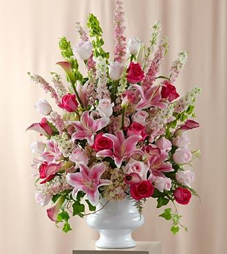 Solemnity arrangement royal fleur florist larkspur ca 94939 solemnity arrangement larger image mightylinksfo